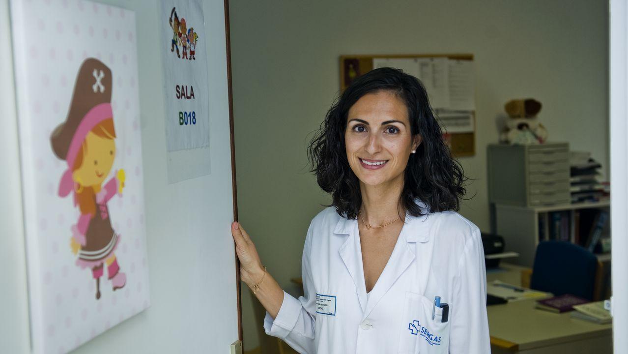 Olga Alonso, Sara Díez y Valentín Rodríguez, el equipo de epidemiología de la dirección general de Salud Pública