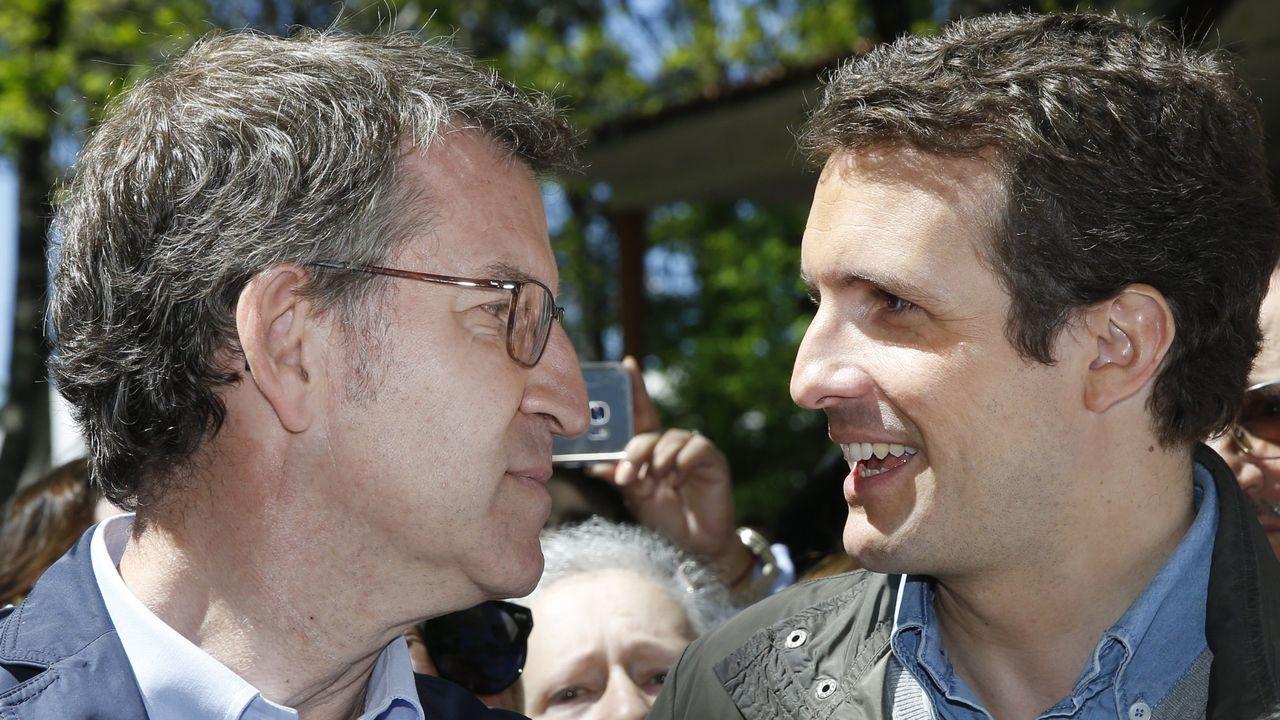 Errejón: «Cada escaño que saquemos será para el acuerdo».Feijoo trata de marcar distancias con Casado y su línea de pactos a tres bandas con Cs y Vox en toda España