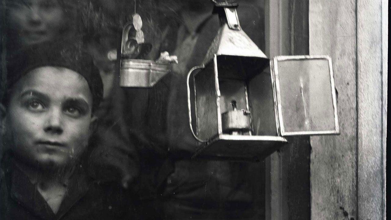 Fragmento de una fotografía realizada en España por Ruth Mathilda Anderson perteneciente a los fondos de la Hispanic Society of America