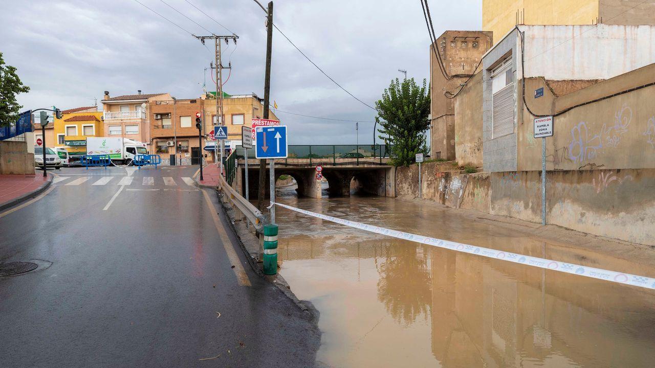 Vista de la pedanía de Churra, en Murcia