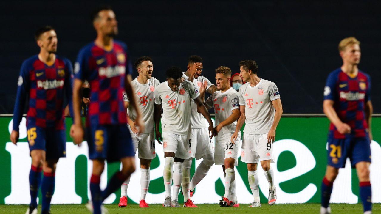 El Bayern humilla al Barcelona sin piedad (2-8)