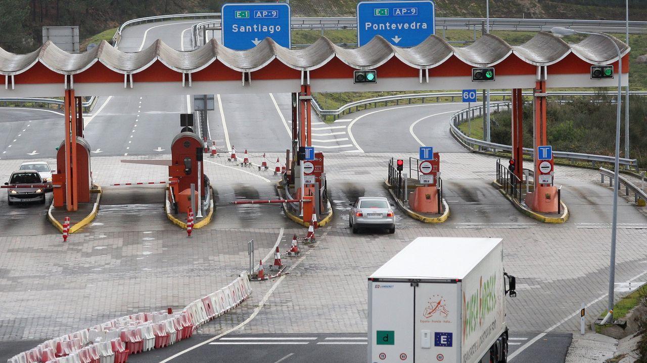 Clamor de los transportistas contra la nueva subida de tarifas en la AP-9