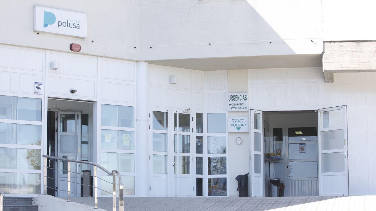 O patrimonio que agochan as montañas.Exterior del hospital Ribera Polusa, en una foto de archivo