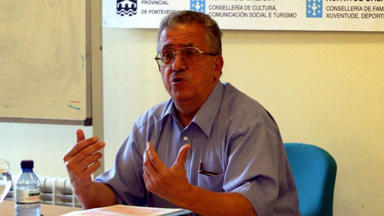 Josep Fontana en Pontevedra, en una imagen de archivo