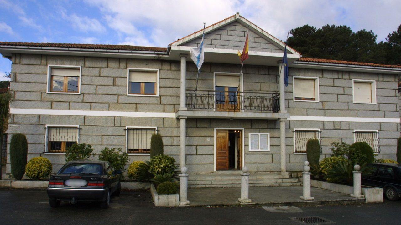 Casa consistorial de Padrenda, municipio en el que se produjo el suceso