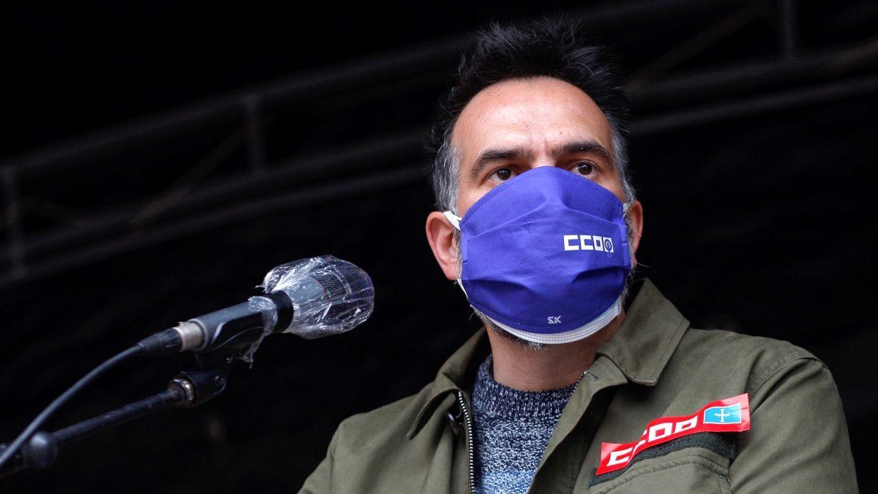 vacunas asturias .El secretario general de Comisiones Obreras de Asturias, José Manuel Zapico