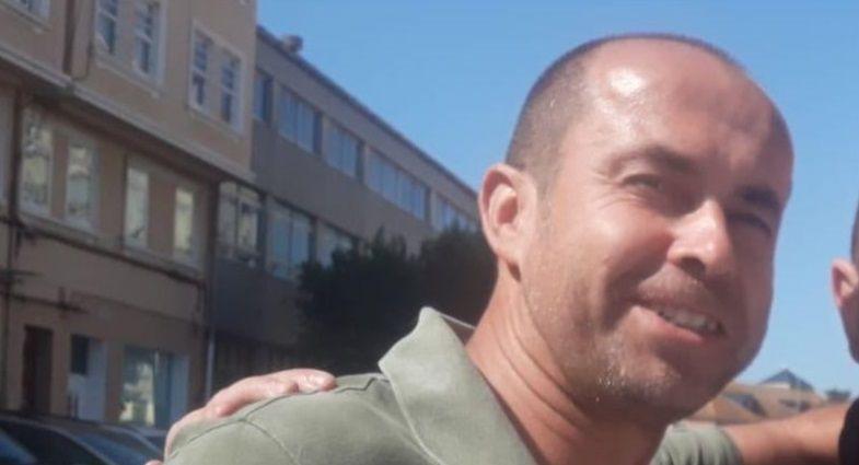 El teniente coronel Jesús Gayoso, en una foto de una de sus últimas visitas a A Coruña