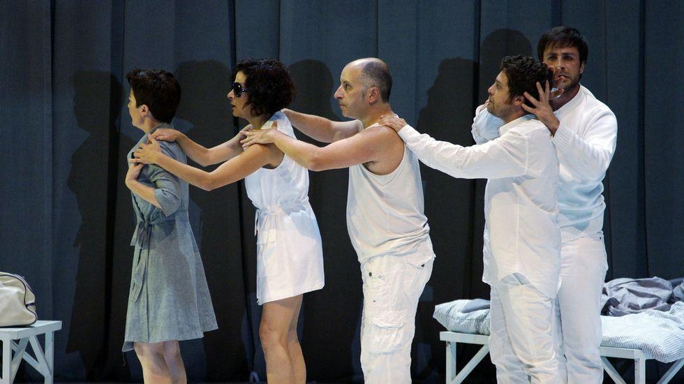 Antón Laxe e Carmen Basadre presentaron a programación