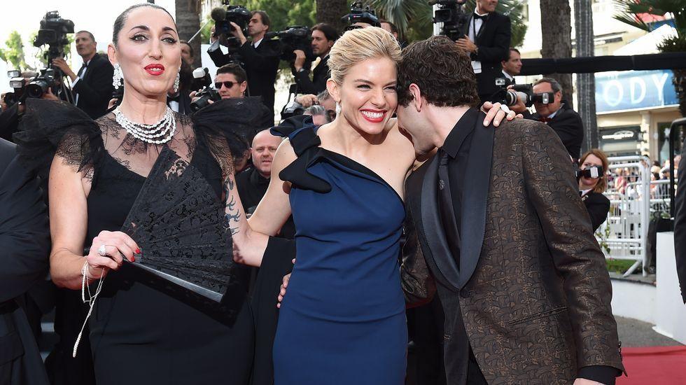 Rossy de Palma, Sienna Miller y Xavier Dolan