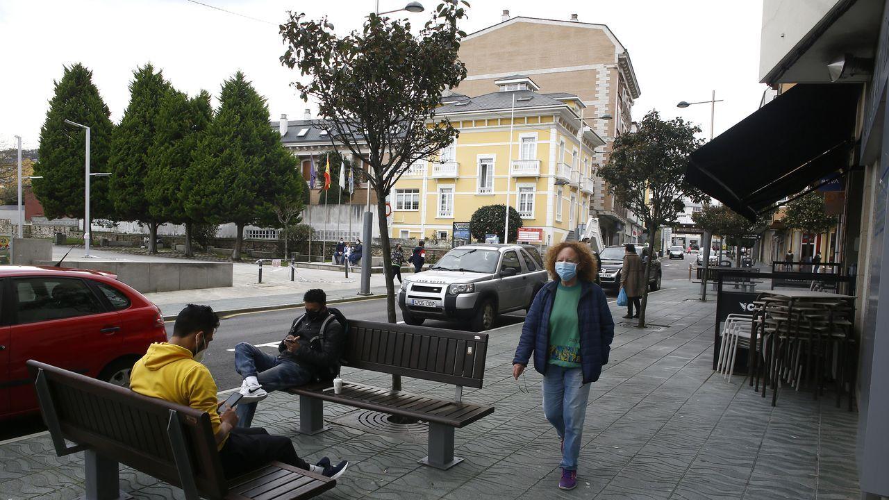 Jornada de protestas de la hostelería gallega