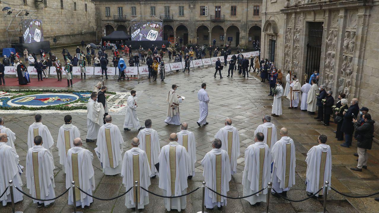 Actos de inicio del Xacobeo 21 con la apertura de la Puerta Santa