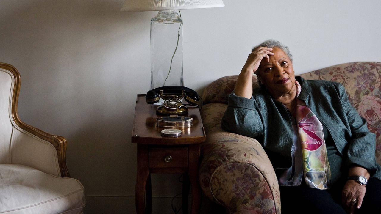 La novelista afroamericana Toni Morrison, ganadora del Pulitzer y del Nobel