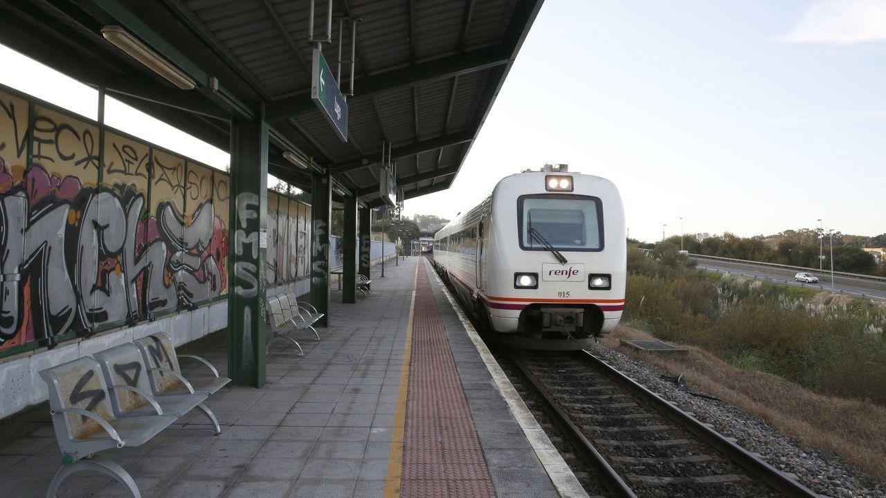 Entramos en la estación intermodal de A Coruña