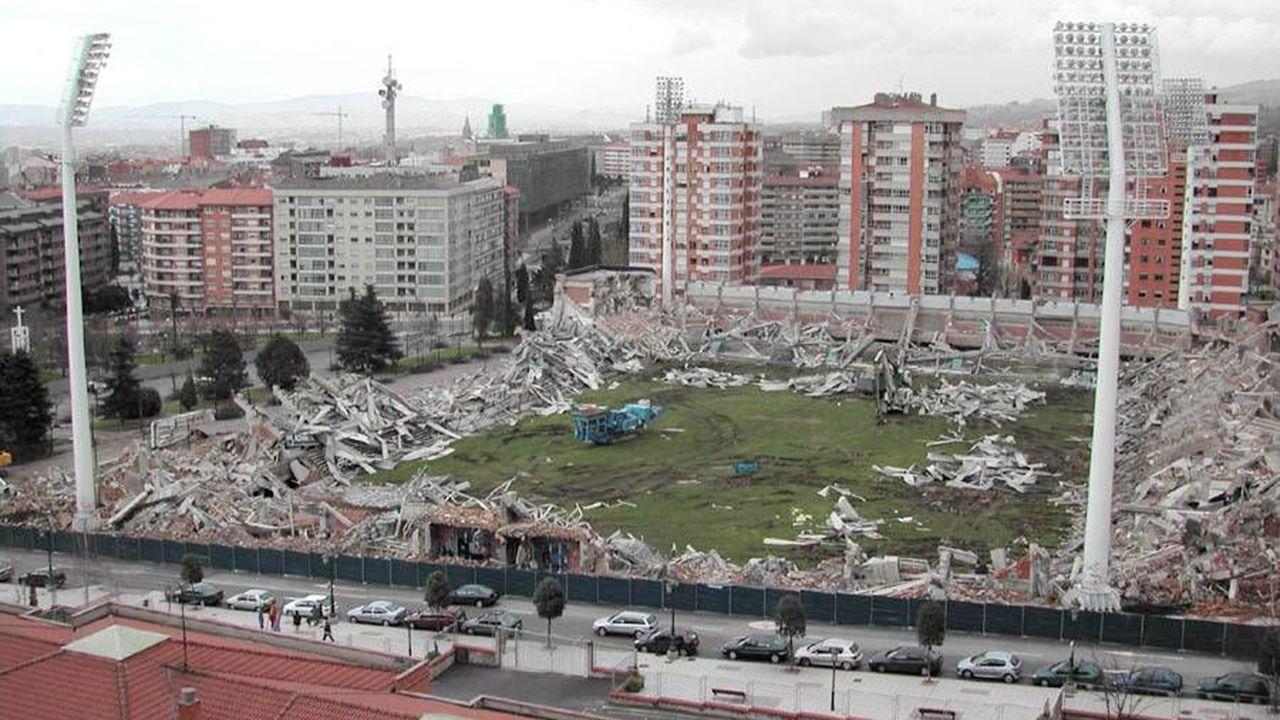 Demolición del antiguo Carlos Tartiere