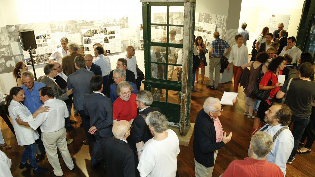 La Colexiata,lajoya arquitectónica deSar.Francisco García, alcalde de Allariz