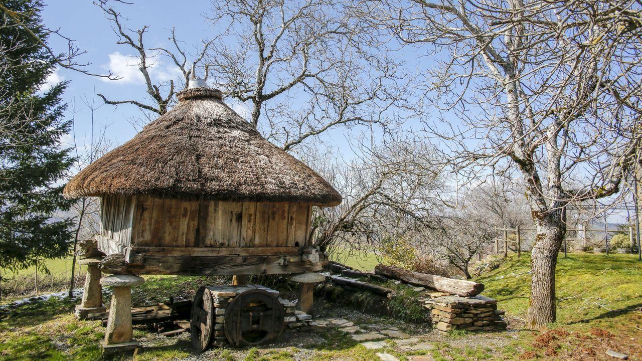 El hórreo de Fillobal es una muestra del patrimonio etnográfico de Triacastela. Se encuentra en el recorrido del Camino de Santiago