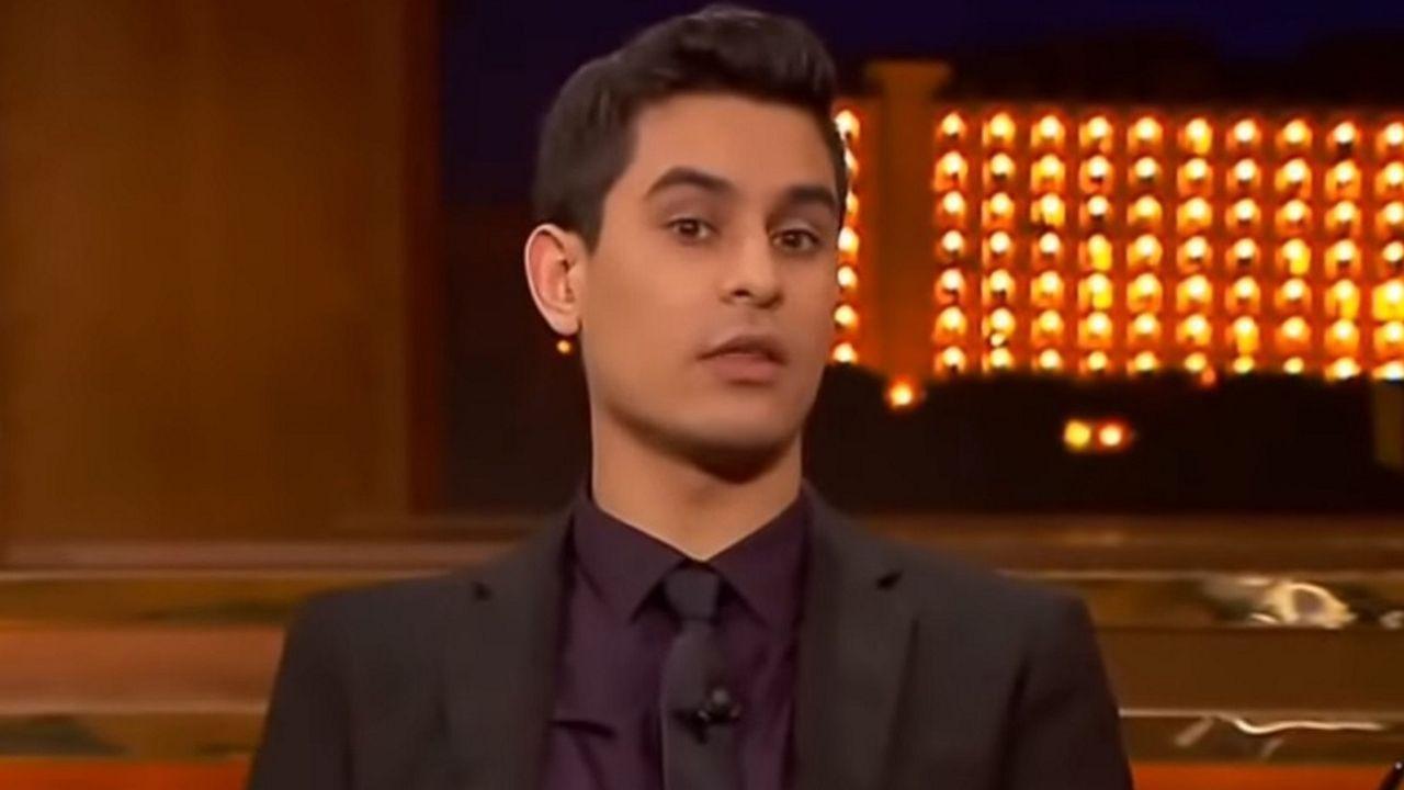 El humorista David Suárez durante una intervención en el programa Late Motiv