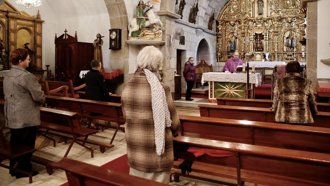 Misa este domingo en Lampón, Boiro