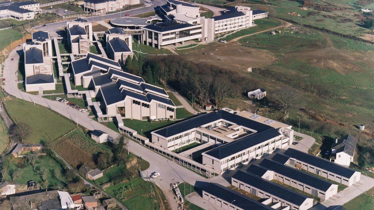 El edificio de Veterinaria, inaugurado en 1991, fue diseñado por Antonio González Trigo en una parcela de 51.620 metros cuadrados