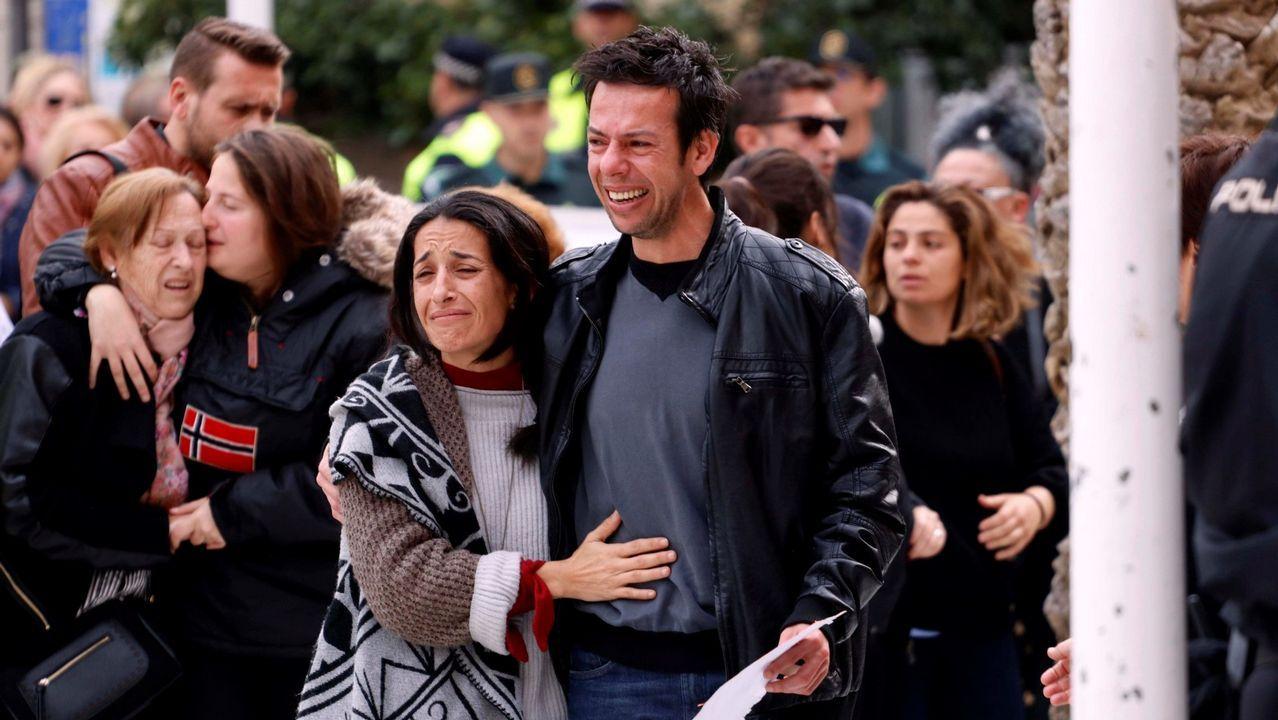 ¿Mató también Ana Julia a su hija Ridelca?.Los padres de Gabriel, en una imagen de archivo