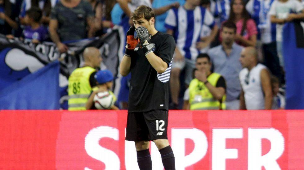 Casillas: «Ojalá lo de De Gea se arregle pronto»