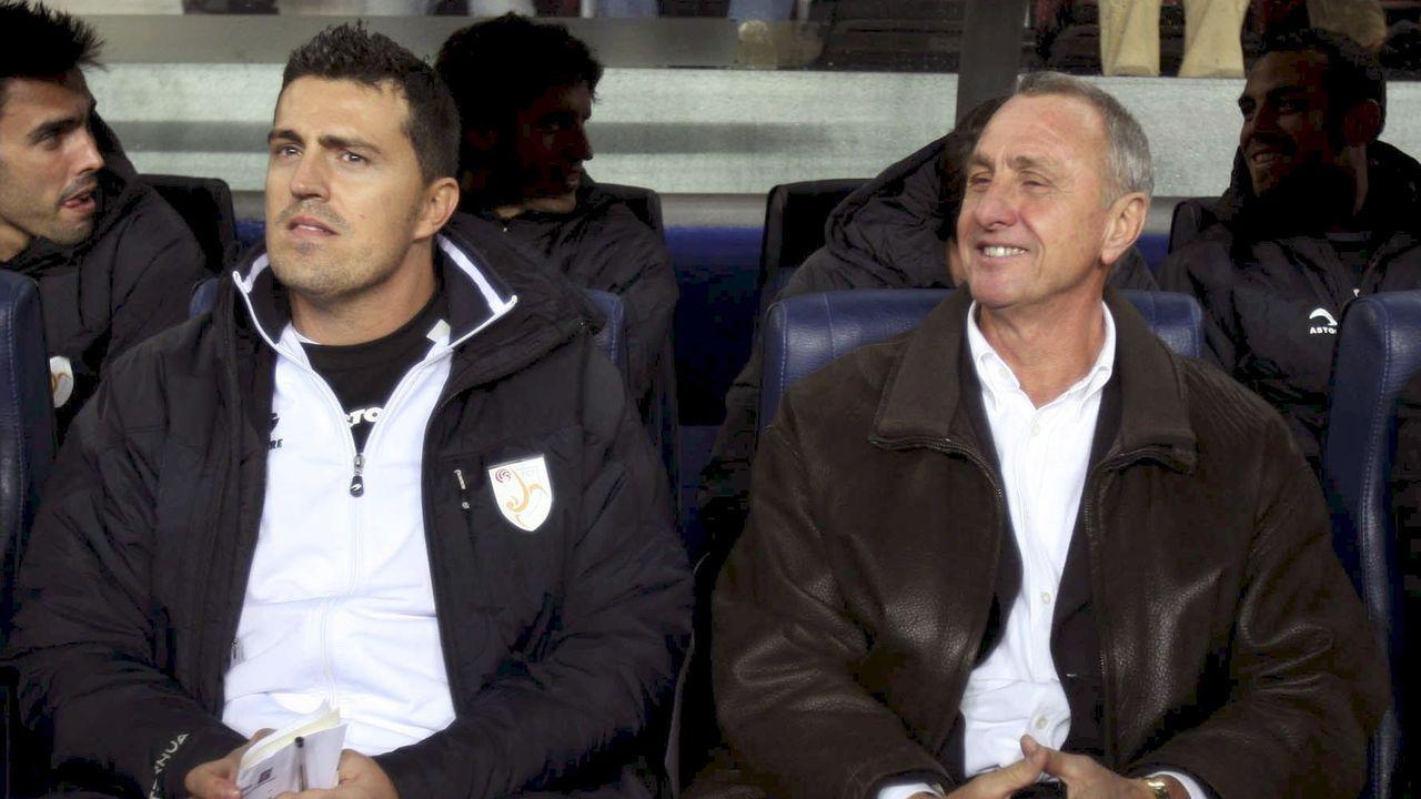 Así fue la charla sobre fútbol entre Eusebio Sacristán y Sergio González.Mark Rutte, primer ministro holandés.