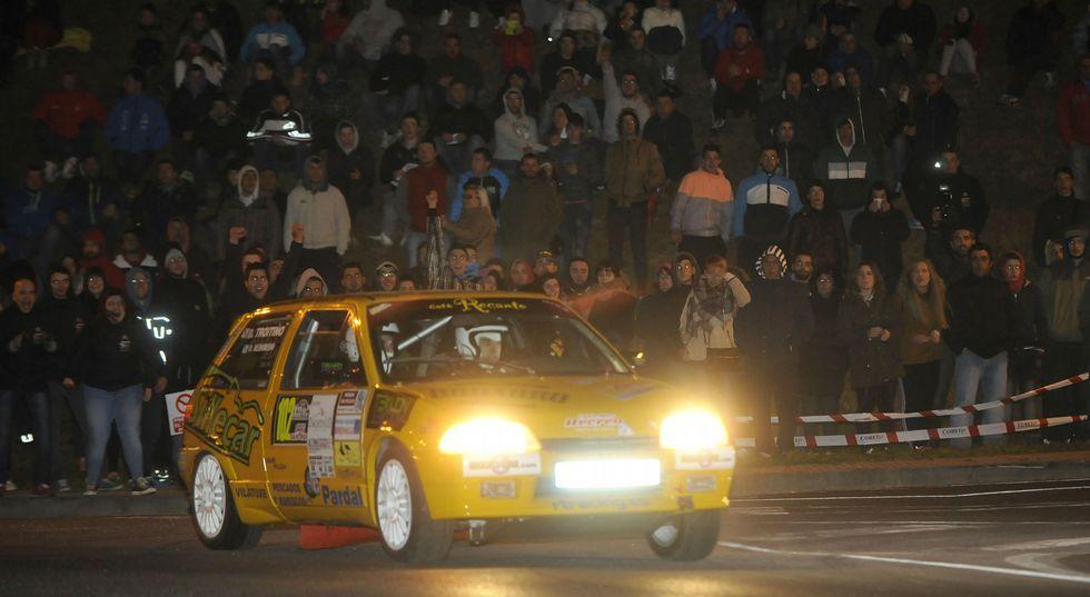 El tramo nocturno en Lalín de Arriba congregó el pasado año a 5.000 espectadores.