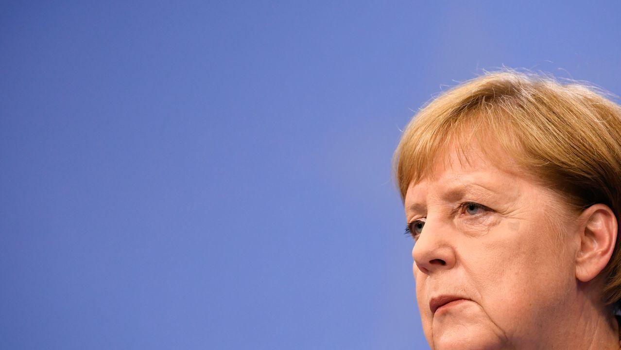 Aspirantes a dirigir los puestos más relevantes de la UE.Angela Merkel está dispuesta a ceder la presidencia de la Comisión Europea si obtiene el control del BCE