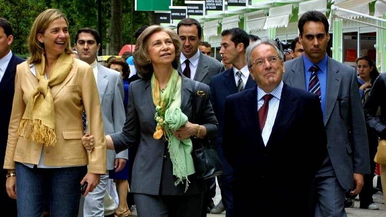La reina Sofía, con sus nietos en Mallorca.Los cines As Termas, en imagen, seguirán abiertos cuando abran las ocho salas de Abella.