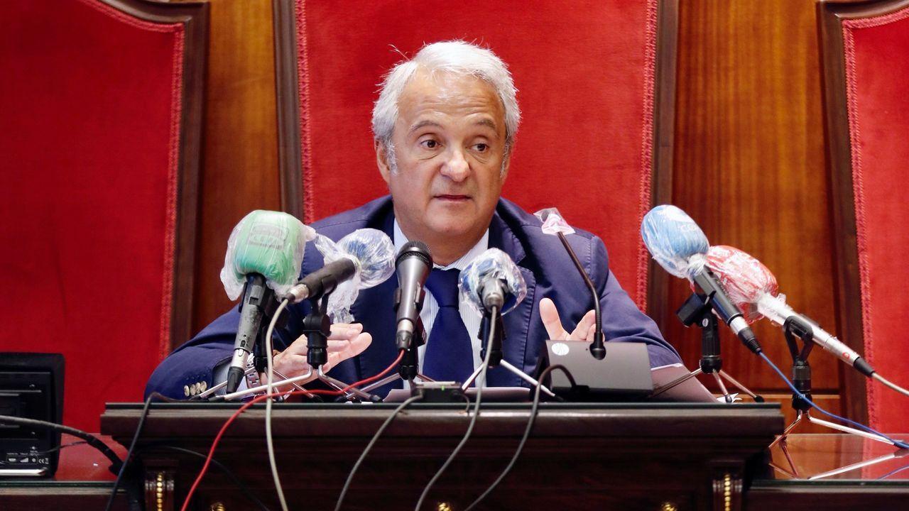 coruna.El presidente del Tribunal Superior de Justicia de Asturias (TSJA), Jesús María Chamorro