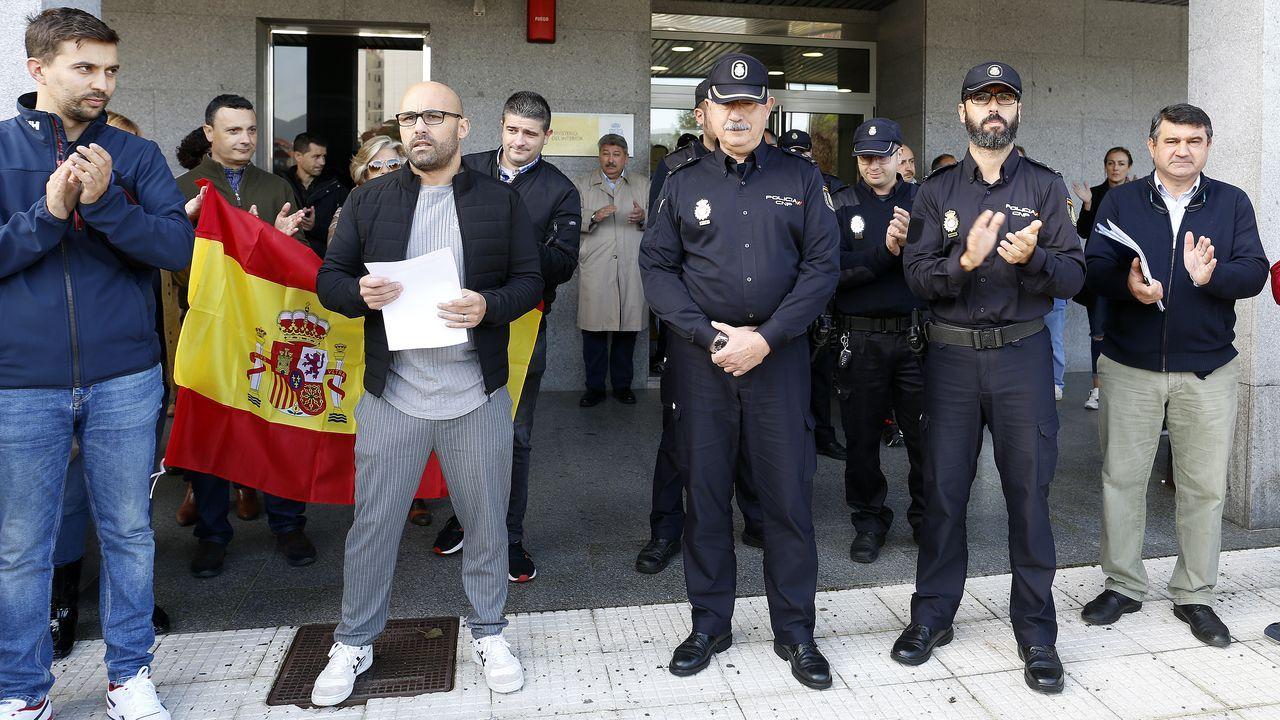 comisaría de Policía Nacional de Gijón.Gonzalo Boye es el abogado del fugado expresidente de la Generalitat, Carles Puigdemont