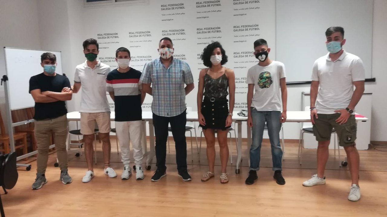 Visita de AJE Ourense a Benposta