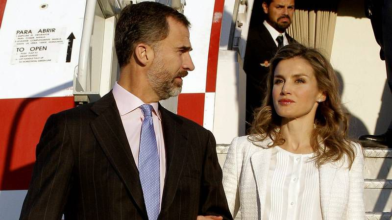 La familia real, en la Misa del Domingo de Pascua de Palma
