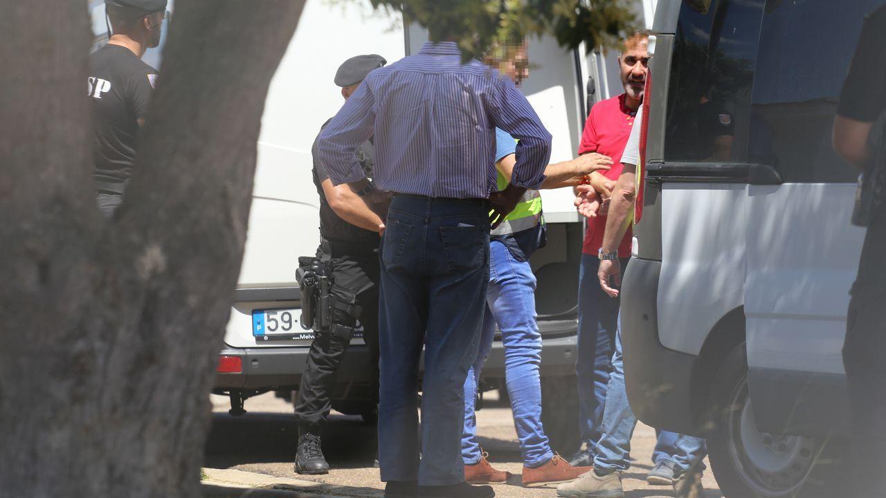 La policía de Portugal entrega al líder de Las 5 Jotas