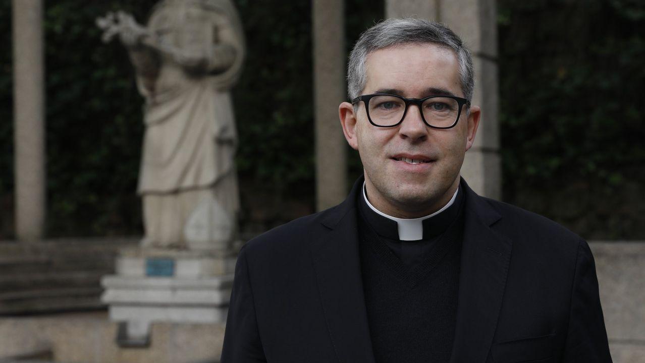 Raúl Alfonso, delegado de asuntos económicos de la Diócesis de Ourense