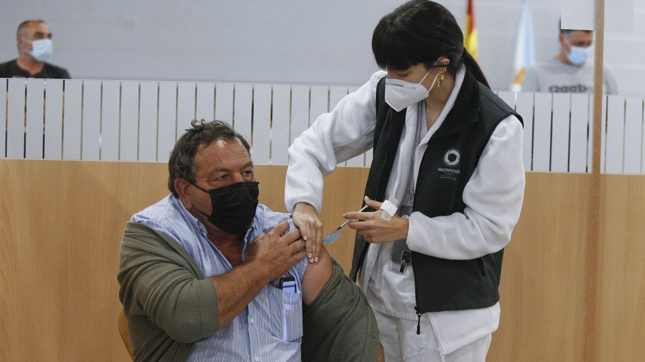 Sito Miñanco llegando a la Audiencia Provincial de Pontevedra