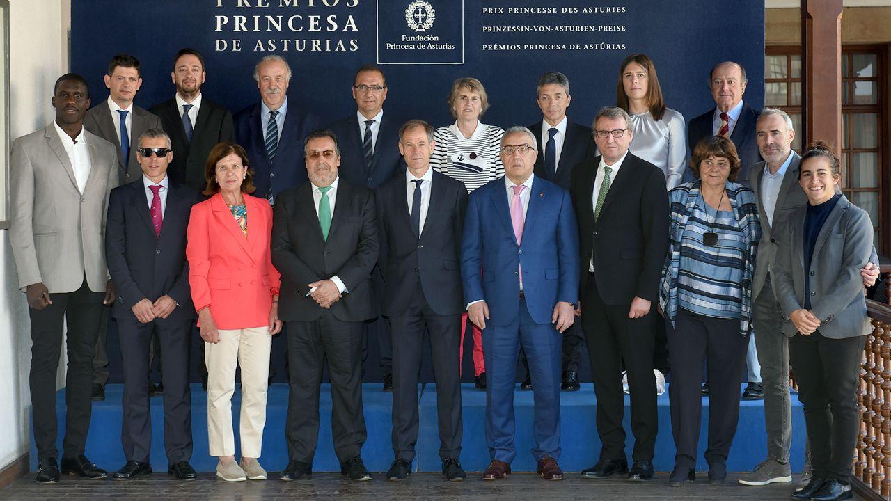 La Fundación Princesa suma apoyos.Reunión del jurado del premio Princesa de Asturias de los Deportes 2019