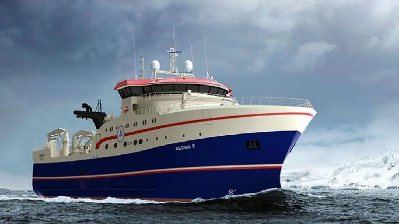 Metalships & docks.  El astillero del grupo Rodman ultima los trabajos para la entrega del Regina C. Se trata de un buque de arrastre congelador preparado para los mares del Ártico, contratado por la compañía Niisa Trawl Aps, de Nuuk (Groenlandia). Tiene una eslora de 80 metros y acomodación para 32 personas