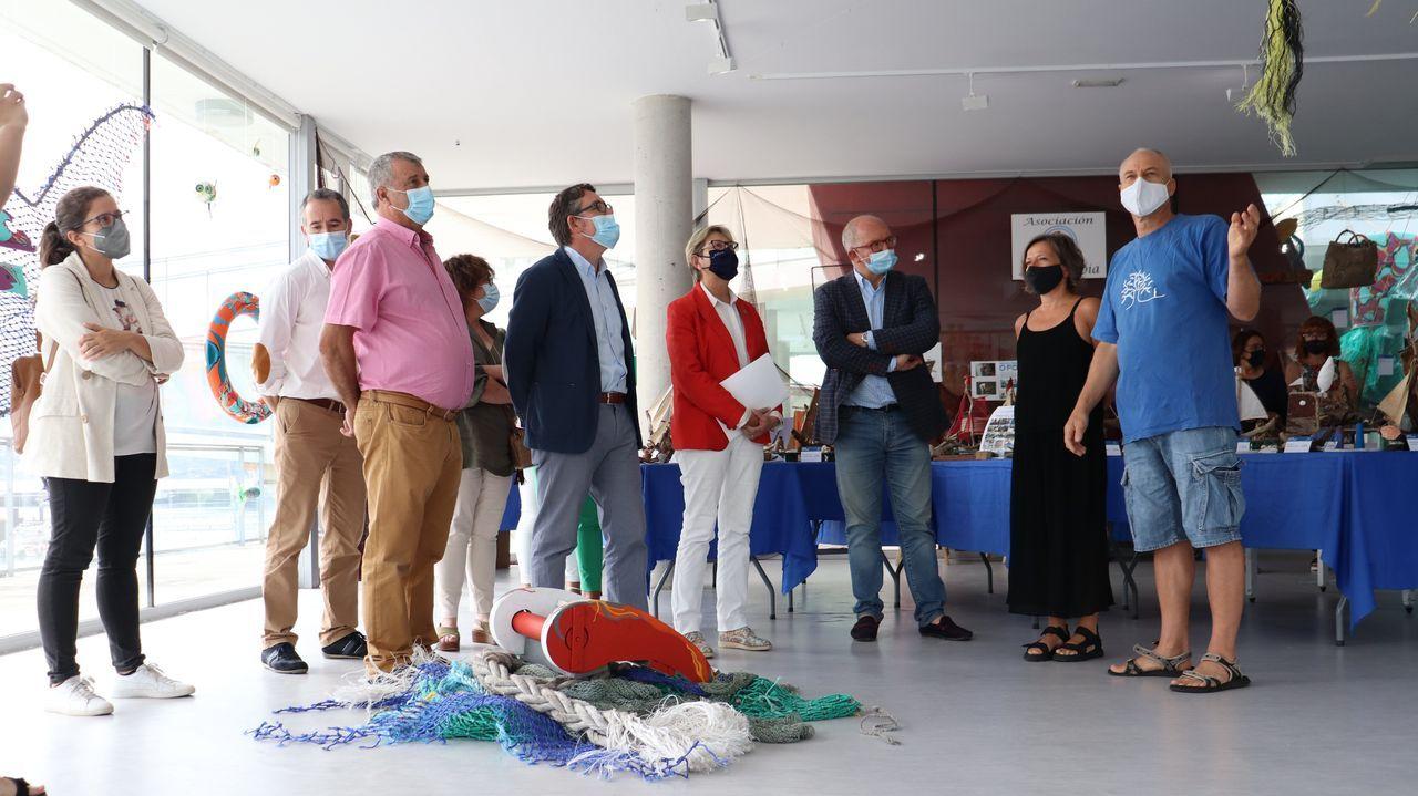 La conselleira de Mar, Rosa Quintana, acudió a la presentación