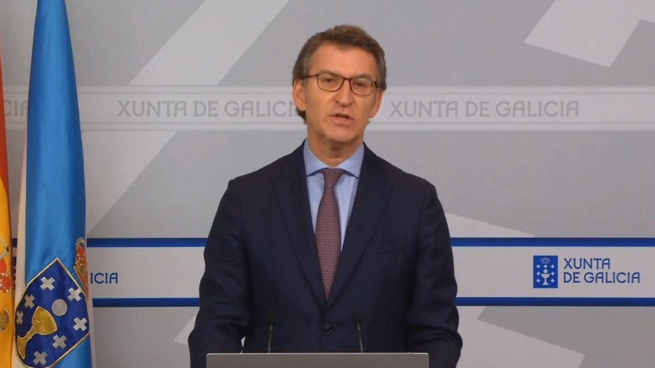 En directo: comparecencia de Feijoo para dar cuenta de la conversación con Pedro Sánchez
