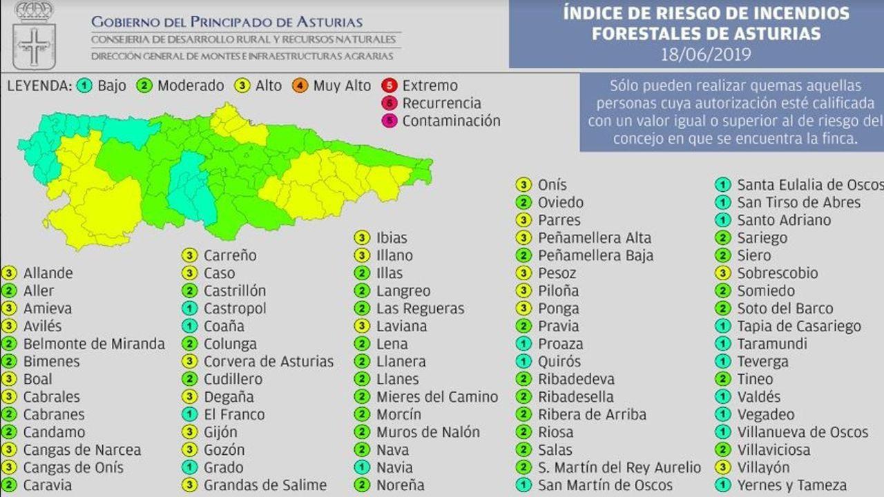 «En Galicia somos moi de monte».Concejos en riesgo de incendios