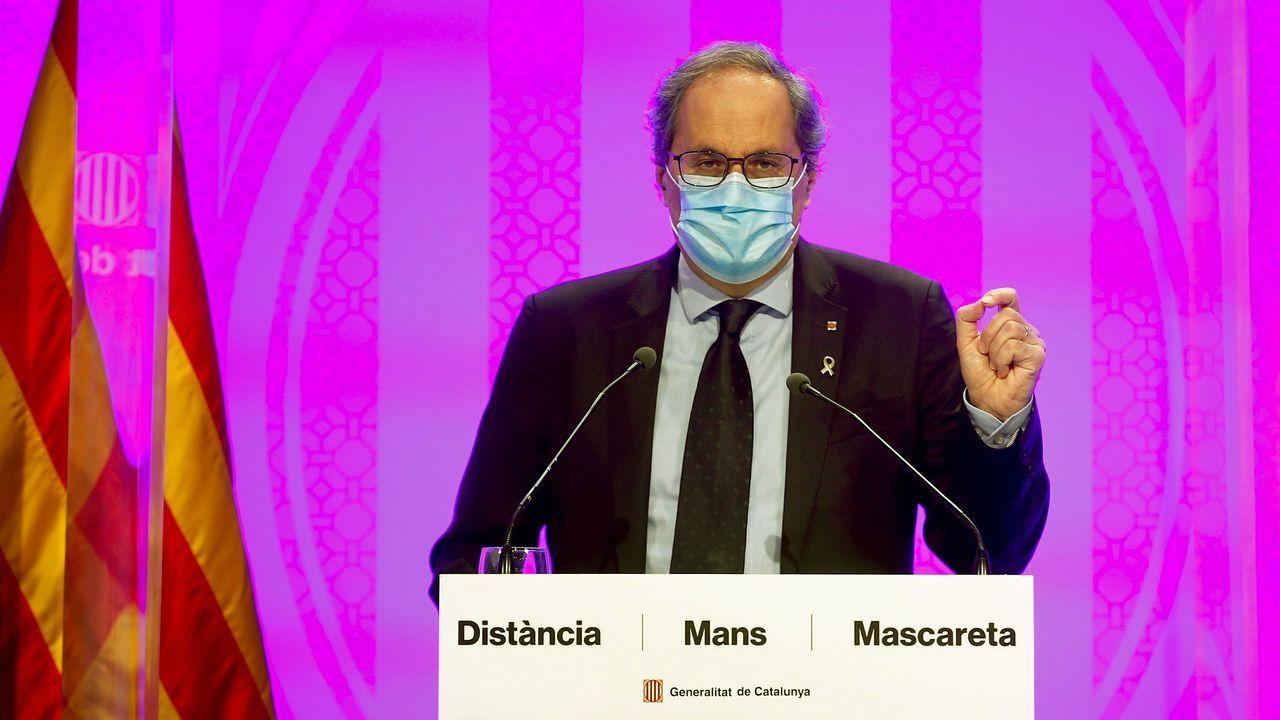 El candidato de Ciudadanos a las elecciones catalanas, Carlos Carrizosa