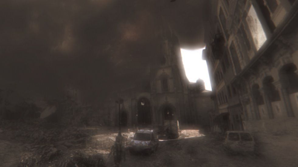 Así sería un apocalipsis extraterreste en Asturias.Ryan McGarvey