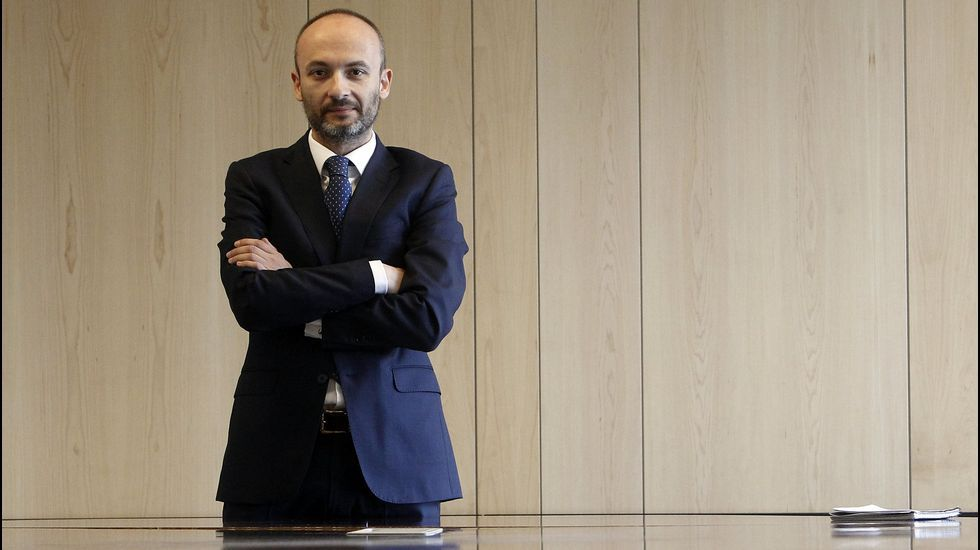 Óscar García Maceiras. Secretario del consejo de la Sareb, el banco malo inmobiliario. Antes estuvo en el Pastor y el Popular.