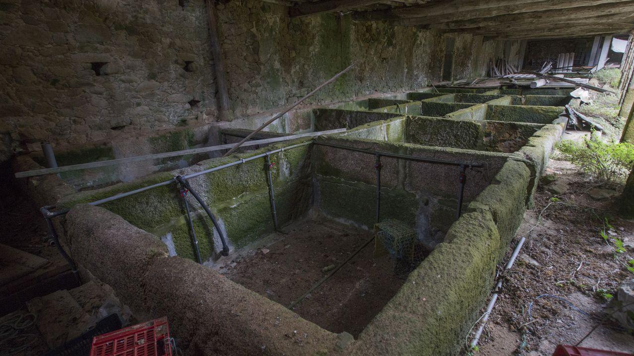 Antigua fábrica de salazón de Santiago Insua Esmorís-Recamán en Fisterra