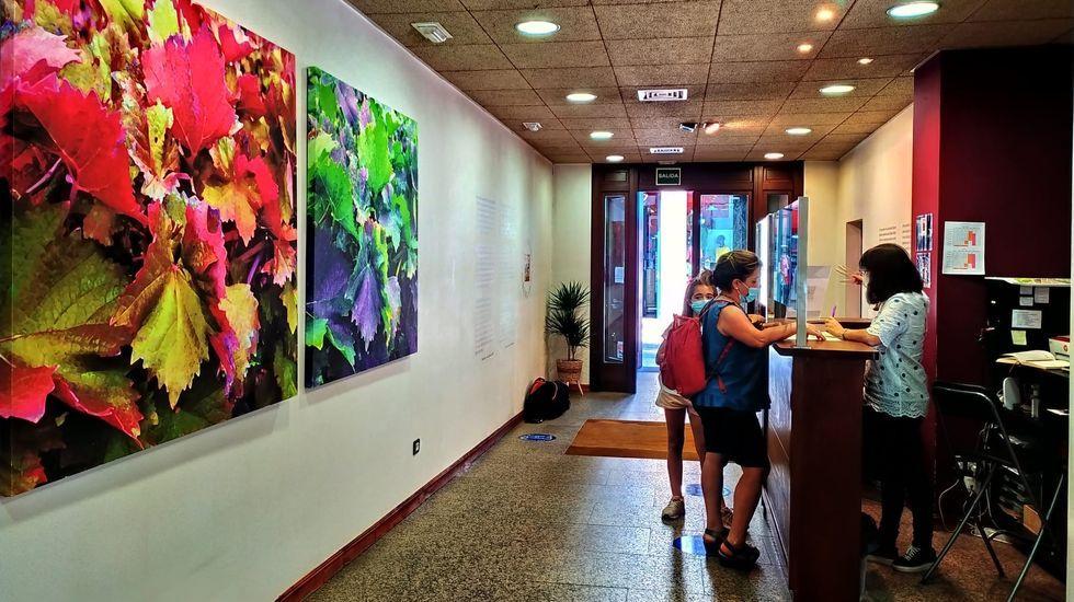 La oficina de turismo de Monforte, ubicada en el Centro do Viño da Ribeira Sacra