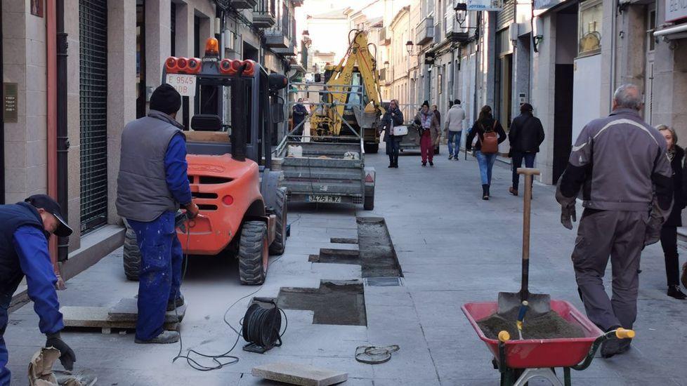 Así ha castigado el temporal a Ourense