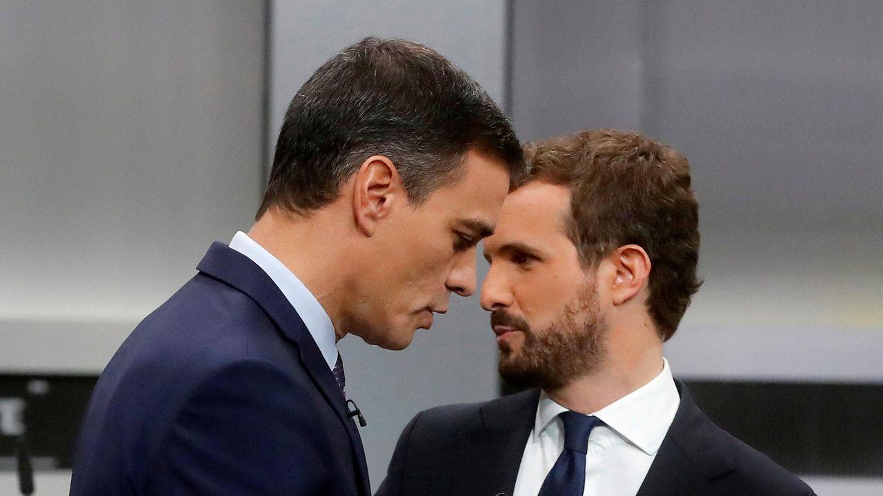 Sánchez y Casado, en una foto de archivo