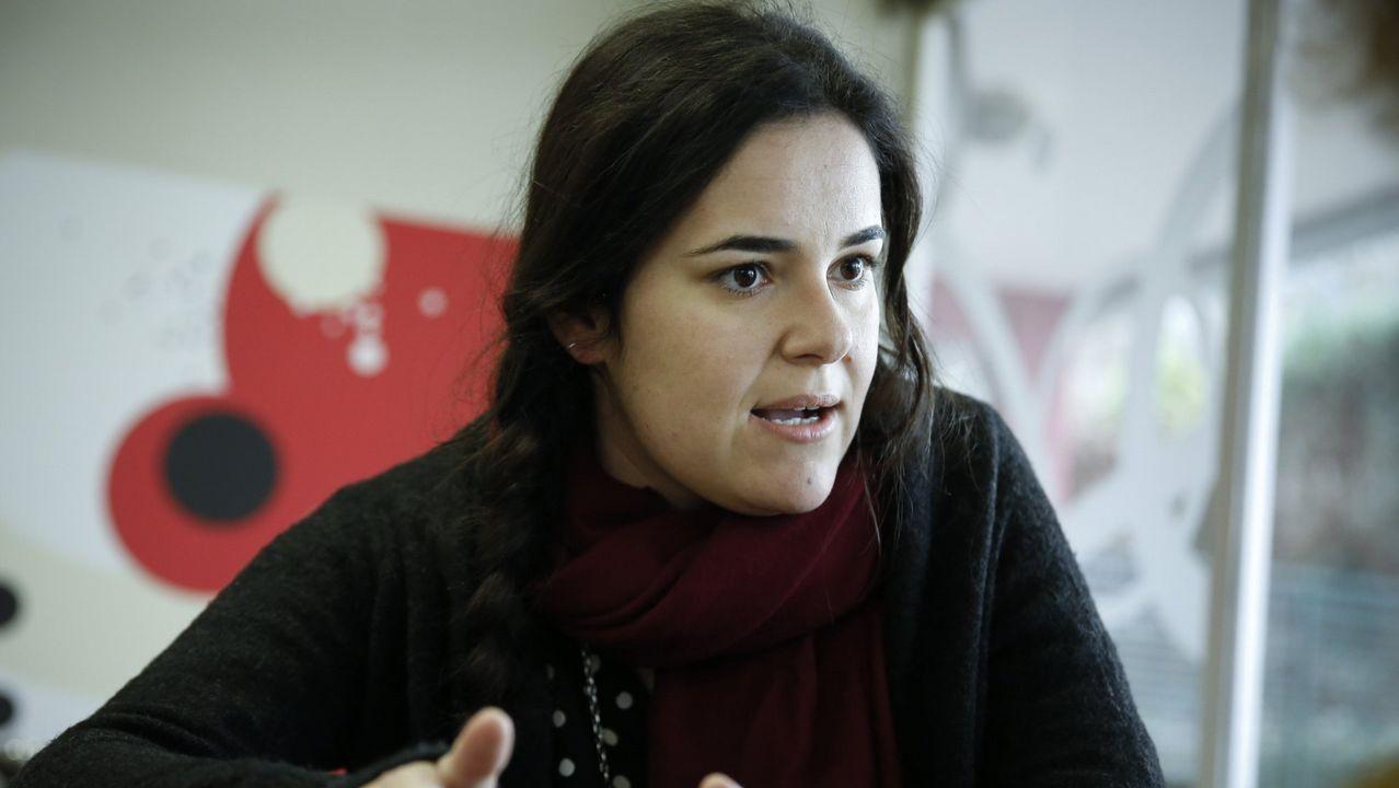 Luca Chao (Parlamento de Galicia). Fue de los primeros diputados en pedir que Villares dejase la portavocía. Enfrentada a Carmen Santos dentro de Podemos, ahora forma parte de la dirección de Gómez-Reino