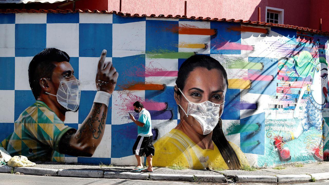 Brasil ha visto disparadas sus cifras de coronavirus